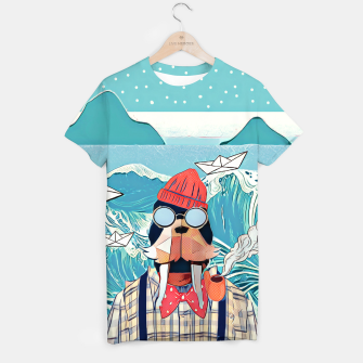 Thumbnail image of Walrus and the paper boats T-shirt, Live Heroes