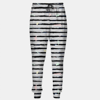 Thumbnail image of Whimsical Stripes Sweatpants, Live Heroes