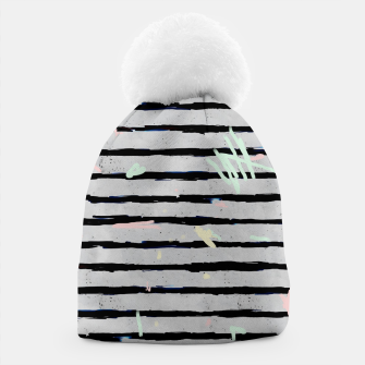 Thumbnail image of Whimsical Stripes Beanie, Live Heroes