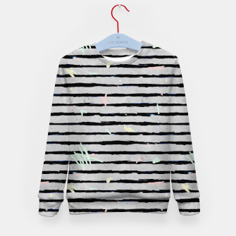 Thumbnail image of Whimsical Stripes Kid's Sweater, Live Heroes