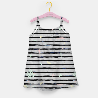 Thumbnail image of Whimsical Stripes Girl's Dress, Live Heroes