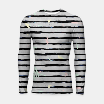 Thumbnail image of Whimsical Stripes Longsleeve Rashguard , Live Heroes