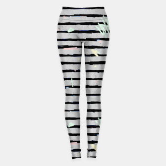 Thumbnail image of Whimsical Stripes Leggings, Live Heroes