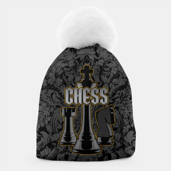 Thumbnail image of Chess Royalty Beanie, Live Heroes