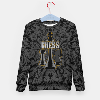 Thumbnail image of Chess Royalty Kid's Sweater, Live Heroes