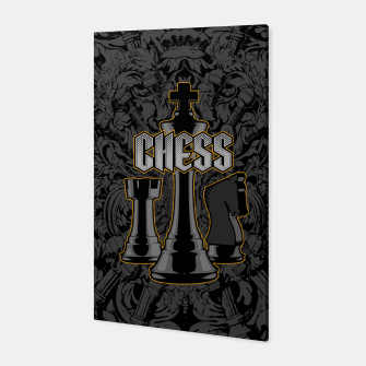 Thumbnail image of Chess Royalty Canvas, Live Heroes