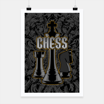Thumbnail image of Chess Royalty Poster, Live Heroes