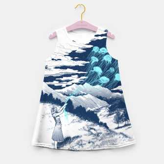 Release the Kindness Girl's Summer Dress obraz miniatury