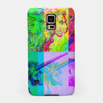 Miniaturka Animals Engraving Color Patchwork Samsung Case, Live Heroes