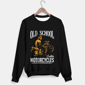 Thumbnail image of Old School Motorcycles Sweater, Live Heroes