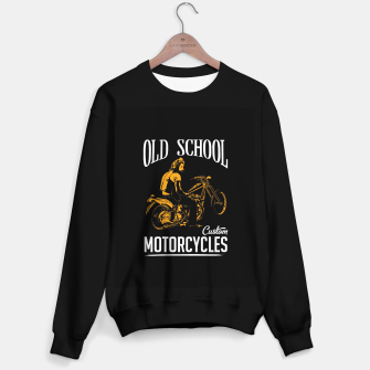 Thumbnail image of Old School Motorcycles Sweater regular, Live Heroes
