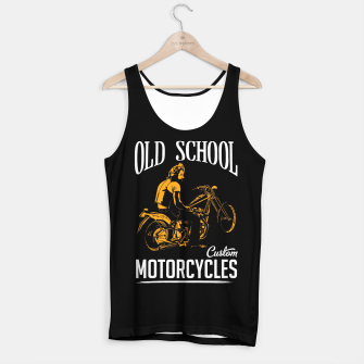 Thumbnail image of Old School Motorcycles Tank Top, Live Heroes