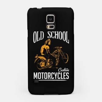Thumbnail image of Old School Motorcycles Samsung Case, Live Heroes