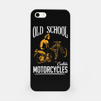 Thumbnail image of Old School Motorcycles iPhone Case, Live Heroes