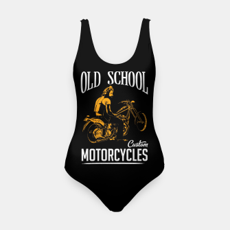 Thumbnail image of Old School Motorcycles Swimsuit, Live Heroes