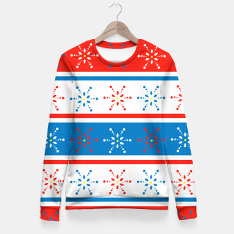 Thumbnail image of Snowflake Fitted Waist Sweater, Live Heroes