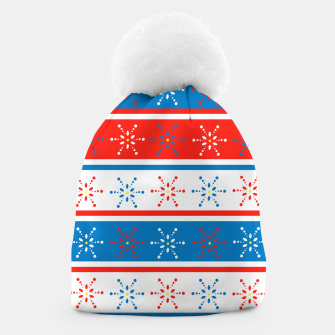 Thumbnail image of Snowflake Beanie, Live Heroes