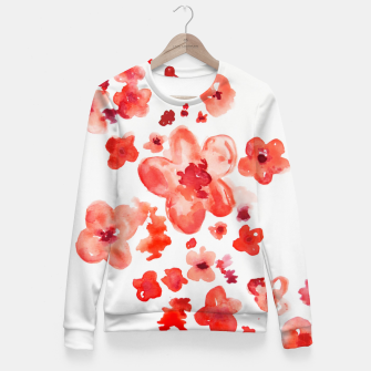 Thumbnail image of Cherry Blossoms Fitted Waist Sweater, Live Heroes