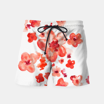 Thumbnail image of Cherry Blossoms Swim Shorts, Live Heroes