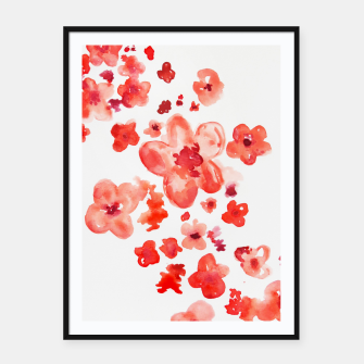 Thumbnail image of Cherry Blossoms Framed poster, Live Heroes
