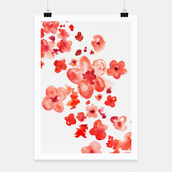 Thumbnail image of Cherry Blossoms Poster, Live Heroes
