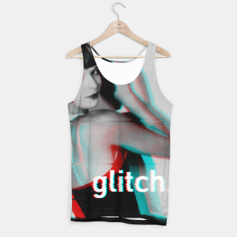 Thumbnail image of Louise Brooks Glitch Tank Top, Live Heroes