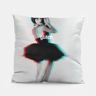 Thumbnail image of Louise Brooks Glitch Pillow, Live Heroes