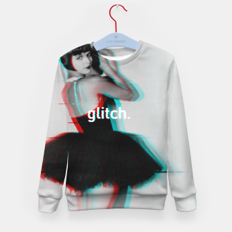 Thumbnail image of Louise Brooks Glitch Kid's Sweater, Live Heroes