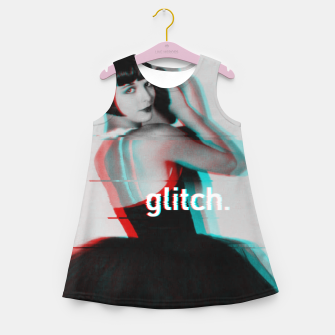 Thumbnail image of Louise Brooks Glitch Girl's Summer Dress, Live Heroes