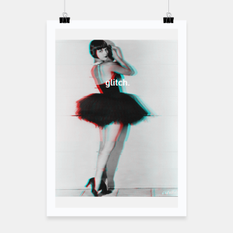 Thumbnail image of Louise Brooks Glitch Poster, Live Heroes