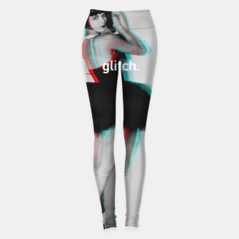 Thumbnail image of Louise Brooks Glitch Leggings, Live Heroes