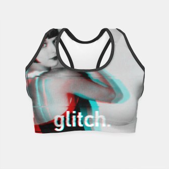 Thumbnail image of Louise Brooks Glitch Crop Top, Live Heroes