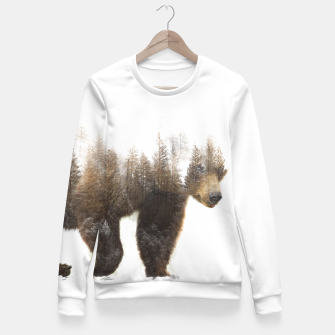Miniaturka bear Fitted Waist Sweater, Live Heroes