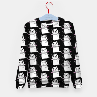 Thumbnail image of Go Cats! Yay Cats! Kid's Sweater, Live Heroes