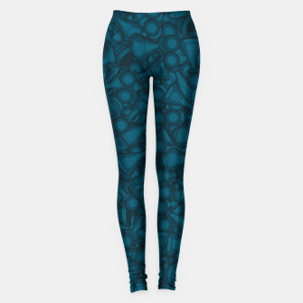Thumbnail image of All The Right Chess Moves Leggings, Live Heroes