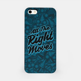 Thumbnail image of All The Right Chess Moves iPhone Case, Live Heroes