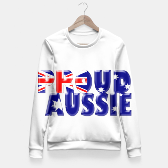 Miniatur proud Aussie Fitted Waist Sweater, Live Heroes