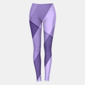 Thumbnail image of Ultra violet purple modern geometric lines Leggings, Live Heroes