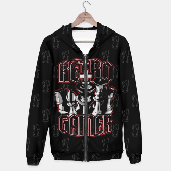 Thumbnail image of Chess Retro Gamer Hoodie, Live Heroes
