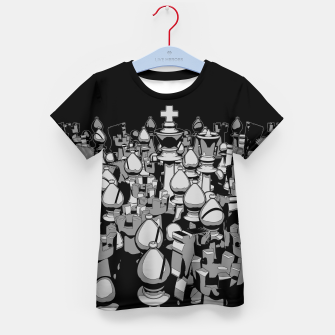 The Chess Crowd Kid's T-shirt thumbnail image