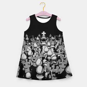 The Chess Crowd Girl's Summer Dress thumbnail image