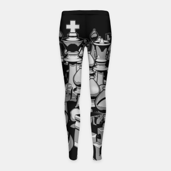 The Chess Crowd Girl's Leggings thumbnail image