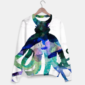 Thumbnail image of Watercolour Octopus Sweater, Live Heroes