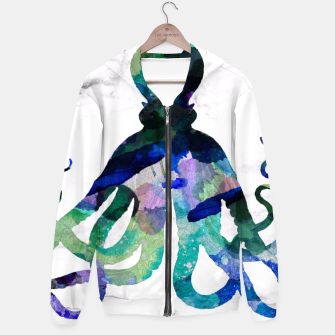 Thumbnail image of Watercolour Octopus Hoodie, Live Heroes