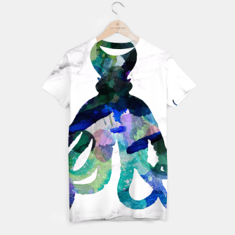 Thumbnail image of Watercolour Octopus T-shirt, Live Heroes