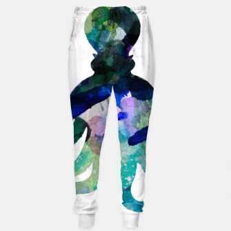 Thumbnail image of Watercolour Octopus Sweatpants, Live Heroes