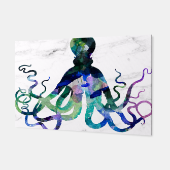 Thumbnail image of Watercolour Octopus Canvas, Live Heroes