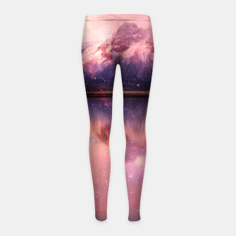 Thumbnail image of Quest for the Stars Girl's Leggings, Live Heroes