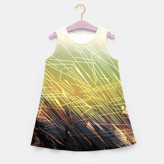 Miniaturka Breaking Grounds Girl's Summer Dress, Live Heroes