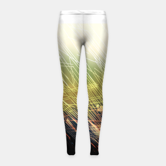Miniaturka Breaking Grounds Girl's Leggings, Live Heroes